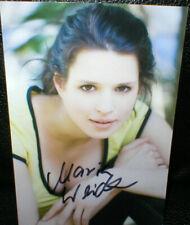 Maria Weidner (2), Autogramm, original signiert!