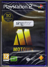 PS2 SingStar Motown (2009), UK Pal, Brand New & Sony Factory Sealed