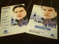 SHACKLETON 2 Emmy ads with Kenneth Branagh as Sir Ernest Henry Shackleton