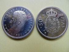 MONEDA 50 pesetas REY 1982 (M Coronada) Sin Circular