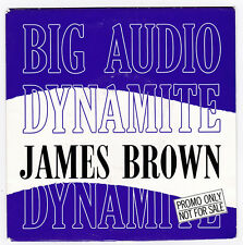 SP 45 TOURS BIG AUDIO DYNAMITE  JAMES BROWN  CBS 655311 0 en 1989
