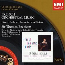 Sir thomas Beecham-FRENCH Orchestral Music CD neuf emballage d'origine