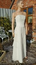Margaret Lee Ivory Wedding Dress Bridal Mother Bride Evening Cruise Ball Prom 12