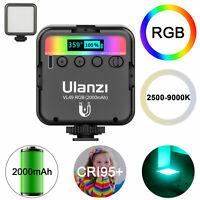 Ulanzi VL49 Mini RGB LED Video Light 2000mAh Vlog Light For Camera Photography