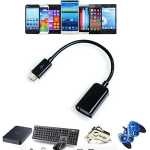 """USB Host OTG AdapterCable For Samsung Galaxy Tab 4 SM-T2317.0"""" Tablet PC_x9"""