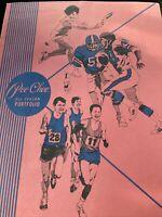 Vintage 2008  Original Pee-Chee All Season Portfolio Folder Sports Red Blue Pink