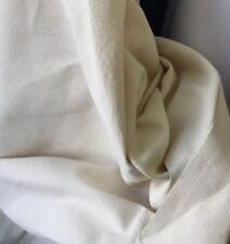 "Heavy Canvas Calico Fabric 54"" Wide 100% Cotton Superior Quality £16 For 3 Metre"