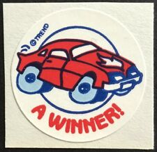 Vintage 80s Matte Trend Scratch & Sniff Sticker - New Car - Mint!!