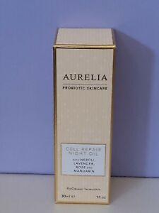 AURELIA Probiotic Skincare ~ Cell Repair Night Oil ~ 30ml ~ RRP £38 ~ BNIB