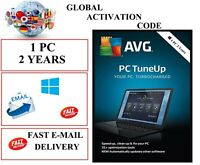 AVG PC TUNE UP 2021 1 PC 2 YEARS EU / DE / GLOBAL KEY CODE (EMAIL DOWNLOAD)