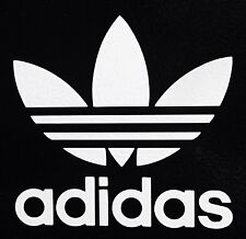 2X Adidas Logo Vinyl Decal Die Cut Surfboard Snowboard Skate Car Window sticker