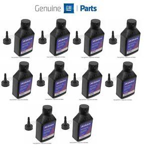 For Chevrolet Pontiac Set of 10 Supercharger Oil Bottles 4 oz. Bottle GM Genuine