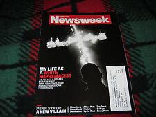 Newsweek Magazine Back Issue My Life as a White Supremacist November 28, 2011