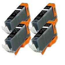 4 BLACK Ink Cartridge for Canon Printer CLI-221BK MP560 MP620 MP640 iP4700