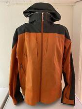 Patagonia Winter Ski Coat Jacket Hooded Orange Mens Size XL