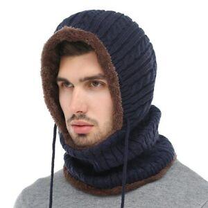 New Men Skullies Beanies Winter Hats For Women Caps Knit Hats Ski Balaclava Cap