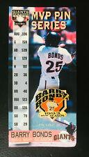 Pin/Pinback ~ BARRY BONDS, 1993 MVP SEASON, SAN FRANCISCO GIANTS, #2 of 2