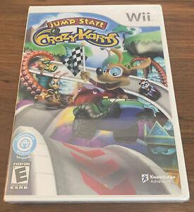 Jump Start Crazy Karts (Nintendo Wii Wii-U, 2011) Complete Game NEW SEALED