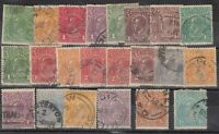 Australia 1914/24 KGV Heads Collection To 1s 4d SG20/81 Fine Used J7933