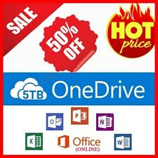OneDrive 5TB ✔️ LifeTime Account 🔥Best Price🔥 Office 365 ✅FREE & FAST SHIPPING