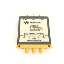 Keysight U9397A FET Solid State Switch, 300 kHz to 8 GHz, SPDT U9397A (B 123)