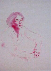 Portrait of art #2227 - pastel