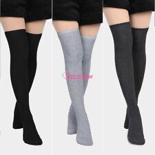 Women Winter Thigh High Over The Knee Knitted Thick Long Socks Leggings Leg Warm