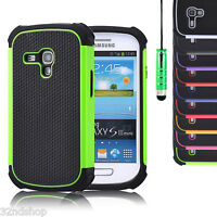 Samsung Galaxy S3 Mini i8190 shockproof case cover + screen protector & stylus