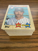 (100) 1987 Topps Don Mattingly All Star #606 New York Yankees NM-MT+