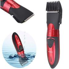 New Washable Electric Rechargeable Mens Shaver Beard Hair Clipper Trimmer Set AE