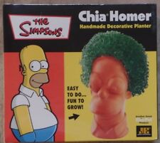 The Simpsons Chia Homer Decorative Planter Set MINT New SEALED 2011