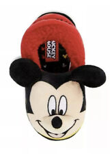 New Boys Toddler Disney Mickey Mouse Slippers Size 7/8
