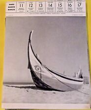 1956 ,PORTUGAL COSTA DE CAPRICIA BARQUE - FISHING-SMACK