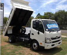 SYDNEY MACHINERY HIRE  2014 HINO 8.5 TONNE TIPPER TRUCK FOR DRY HIRE