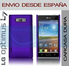 CARCASA FUNDA DURA MORADA LG OPTIMUS L7 P700 / P705 EN ESPAÑA