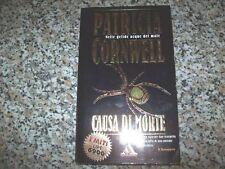 PATRICIA CORNWELL:CAUSA DI MORTE I MITI MONDADORI 121-1999 KAY SCARPETTA INDAGA!