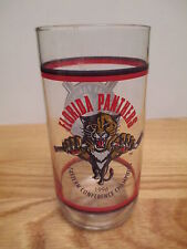 """1996 Eastern Conference Champions Florida Panthers Hockey Club 5.75"""" Glass"""