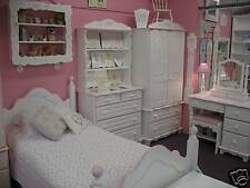 CHARTLEY GIRLS/BOYS SUITE,DRAWERS,WARDROBE,BOOKCASE,BED wow!