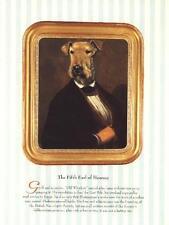 Airedale Terrier - Vintage Dog Art Print - Poncelet