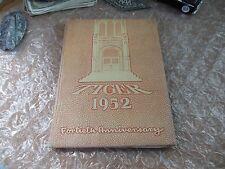 ORIGINAL 1952 LEWIS & CLARK HIGH SCHOOL YEARBOOK/ANNUAL/SPOKANE, WASHINGTON