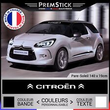 Sticker Pare Soleil Citroen - Autocollant Voiture, Stickers Rallye, Racing, ref2