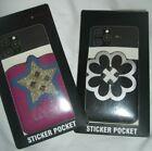 Sticker Phone Wallet Pocket Flower Star