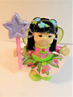 Fisher Price Little People Bendable Poseable Fairy Sonya Lee w/ Star Wand EUC