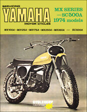 1974 Yamaha MX CycleServ Shop Manual MX100 MX125 MX175 MX250 MX360 SC500 Service