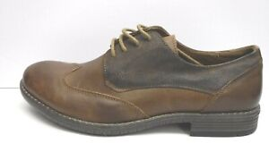 Steve Madden Size 10.5 Brown Leather Oxfords Mens Shoes