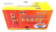 5 boxes Royal King Arthritis Buster Tea (100 tea bags total )