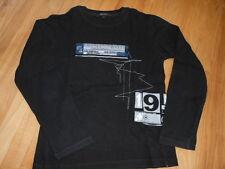 DKNY ~ Longsleeve ~ so cool ~  Gr. 128 / 8 Jahre ~~ schwarz ~~ wie NEU ~