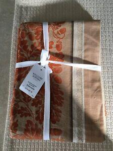 Williams Sonoma Acorn Harvest Jacquard 70 x 108 Table Cloth
