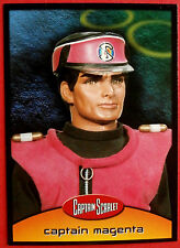 CAPTAIN SCARLET - Card #23 - Captain Magenta - Cards Inc. 2001