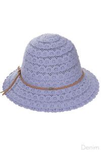 C.C Kids Girl Children Knit Braided Trim Cotton Beach Summer Sun Hat 2-6yr